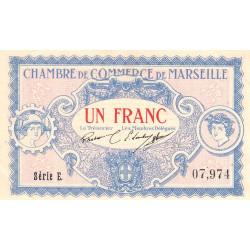 Marseille - Pirot 79-64 - 1 franc - Etat : SUP+