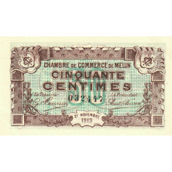 Melun - Pirot 80-7 - 50 centimes