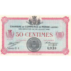 Mende (Lozère) - Pirot 81-5 - 50 centimes