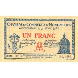 Montpellier - Pirot 85-10b - 1 franc - Etat : NEUF