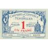 Montpellier - Pirot 85-18v - 1 franc