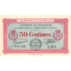 Moulins / Lapalisse - Pirot 86-7 - 50 centimes