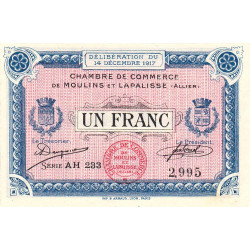 Moulins / Lapalisse - Pirot 86-13b - 1 franc