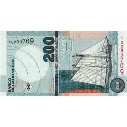 Cap-Vert - Pick 68 - 200 escudos - Etat : NEUF