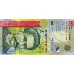 Cap-Vert - Pick 69 - 500 escudos - Etat : NEUF