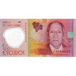 Cap-Vert - Pick 71 - 200 escudos - 2014 - Polymère - Etat : NEUF