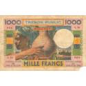 Djibouti - Pick 32 - 1'000 francs - 1974 - Etat : AB