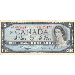 Canada - Pick 77cr (remplacement) - 5 dollars - 1972 - Etat : TB