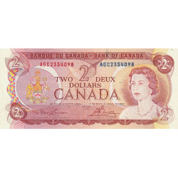 Canada - Pick 86a_2 - 2 dollars - Etat : TTB