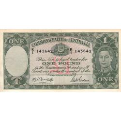 Australie - Pick 26b - 1 pound - 1942 - Etat : TTB+