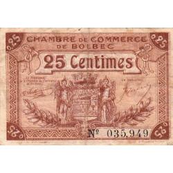 Bolbec - Pirot 29-1 - 25 centimes - Etat : TB