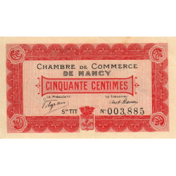 Nancy - Pirot 87-7 - 50 centimes