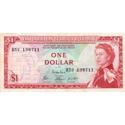 Etats de l'Est des Caraïbes - Pick 13e - 1 dollar - 1974 - Etat : TTB