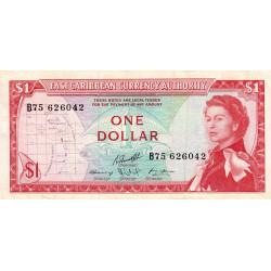 Etats de l'Est des Caraïbes - Pick 13f - 1 dollar - 1974 - Etat : TTB