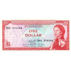 Etats de l'Est des Caraïbes - Pick 13g - 1 dollar - 1974 - Etat : NEUF