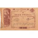 80-3 Amiens (Ville d') - Pirot 7-3- 2 francs - Etat : TTB