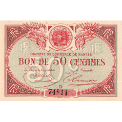 Nantes - Pirot 88-3 - 50 centimes - Etat : NEUF
