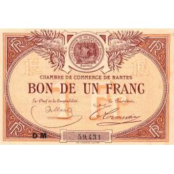 Nantes - Pirot 88-27 - 1 franc - Etat : SUP+