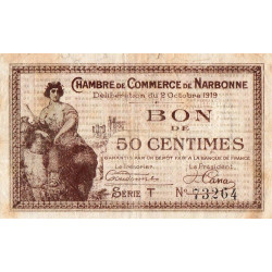 Narbonne - Pirot 89-17 - 50 centimes