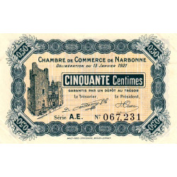 Narbonne - Pirot 89-19 - 50 centimes