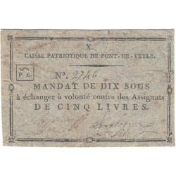 Ain - Pont de Veyle - Kolsky 01-075 - 10 sous - Etat : TTB