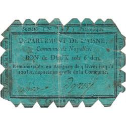 Aisne - Noyalles - Kolsky 02-172 - 2 sols 6 deniers - Etat : TB