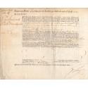 Seine - Paris - Louis XV - Rente perpétuelle au denier 50 pour l'emprunt royal de 1720 - Etat : TTB