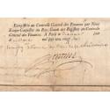 Seine - Paris - Louis XV - Rente perpétuelle au denier 50 pour l'emprunt royal de 1720