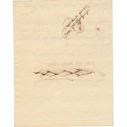 Seine - Paris - Révolution -  Banquier Laborde de Mereville - 1789
