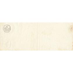 Droit proportionnel - 1803 - 50 centimes