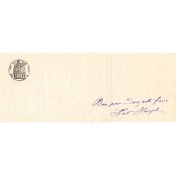 Droit proportionnel - 1889 - 10 centimes