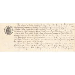 Droit proportionnel - 1891 - 10 centimes - Etat : TTB+