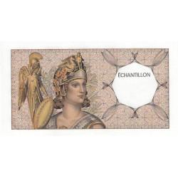 Athena à gauche - Format 100 francs DELACROIX - DIS-03-A-02 - Etat : SPL