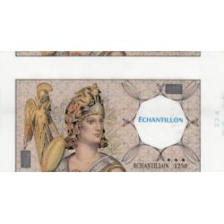 Athena à gauche - Format 200 francs MONTESQUIEU - DIS-03-F-03 variété 2 - Etat : SUP+