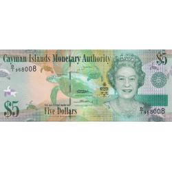 Caimans (îles) - Pick 39 - 5 dollars - 2010 - Etat : NEUF