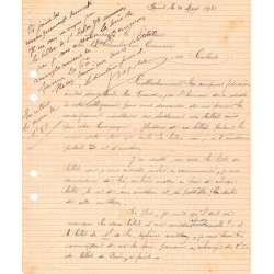Calais - Pirot 36 - Document