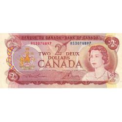 Canada - Pick 86a_1 - 2 dollars - Etat : TTB