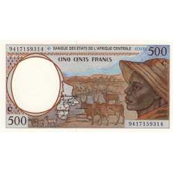 Congo (Brazzaville) - Afr. Centrale - P 101Cb - 500 francs