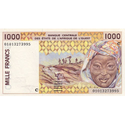 Burkina-Faso - Pick 311Cl - 1'000 francs - 2001