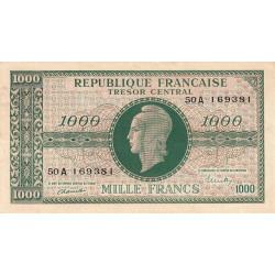 VF 12-1 - 1000 francs - Marianne - 1945 - Etat : TTB