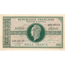 VF 13-1 - 1000 francs - Marianne - 1945 - Etat : TTB+