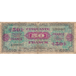 VF 24-1 - 50 francs - France - 1945 - Etat : B+