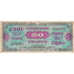 Trésor - Fayette VF 24-1 - 50 francs - France - 1945