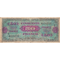 Trésor - Fayette VF 24-2 - 50 francs - France - 1945