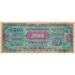 Trésor - Fayette VF 24-3 - 50 francs - France - 1945