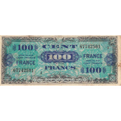 VF 25-2 - 100 francs série 2 - France - 1944 - Etat : TB-