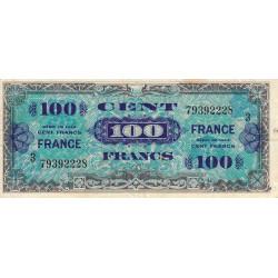 VF 25-3 - 100 francs série 3- France - 1944 - Etat : TB+