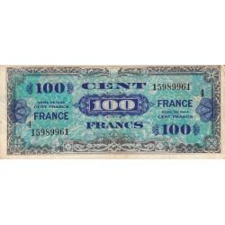 VF 25-4 - 100 francs série 4 - France - 1944 - Etat : TB