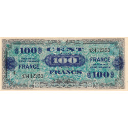 VF 25-4 - 100 francs série 4 - France - 1944 - Etat : TTB+
