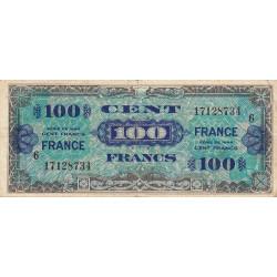 VF 25-6 - 100 francs série 6 - France - 1944 - Etat : TB+